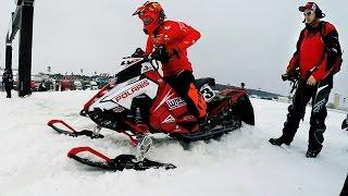 GoPro: Snocross Racing as a Family - Leighton Motorsports