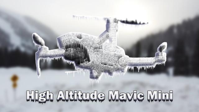 Can the Mavic Mini fly at 12,000 feet??? -19°C