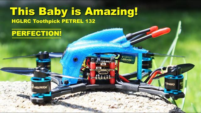 This is a Drone to Own! The 6S HGLRC Petrel 132 FPV Drone