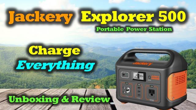 Jackery Power Station 500 Full Review - Incredible | Portable | Powerful