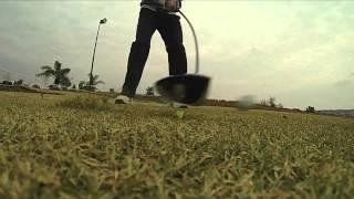 Golf Slow Motion Shots GoPro HD Hero 3 240fps