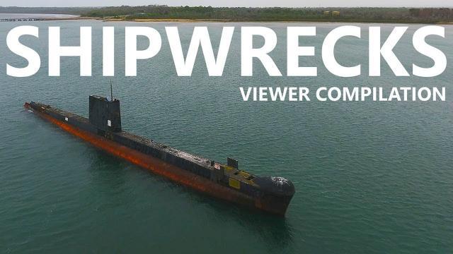 Shipwrecks - A Drone's Eye view - KEN HERON