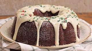 Gingerbread Bundt Cake with Cream Cheese Frosting | Ep 1312