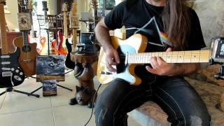 Rattle That Lock - David Gilmour -Solo with Telecaster - PRS - Black Strat