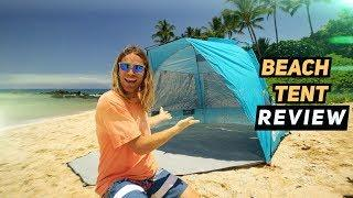 The Perfect Beach Tent Review! | MicBergsma