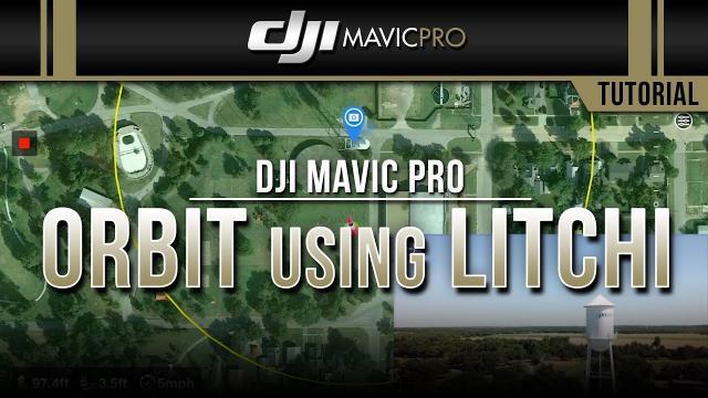 DJI Mavic Pro / Waypoints Using LITCHI App  (Tutorial)