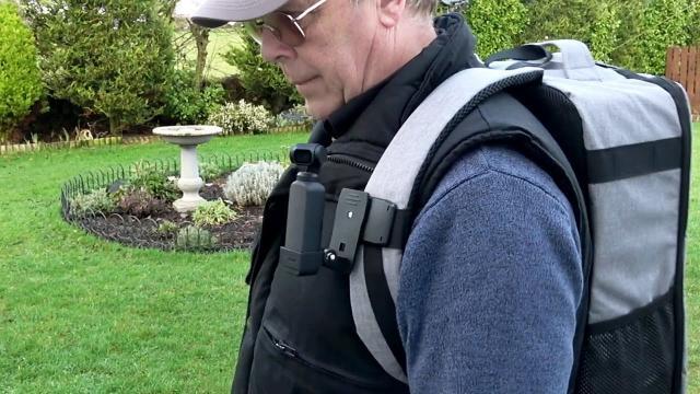 DJI OSMO Pocket Backpack Clip Kit