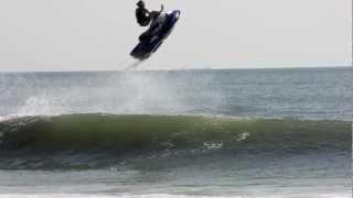Jetski GoPro Surf Freestyle Hurricane Leslie VA Beach Jet Ski Waves The Red Hot Chilli Peppers