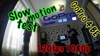 GoPro Hero 4 Black Edition Slow Motion Test 1080p 120fps