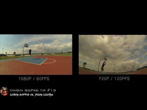 GoPro Tip #13 60fps Vs 120fps, Best Slow Motion Mode (4K)