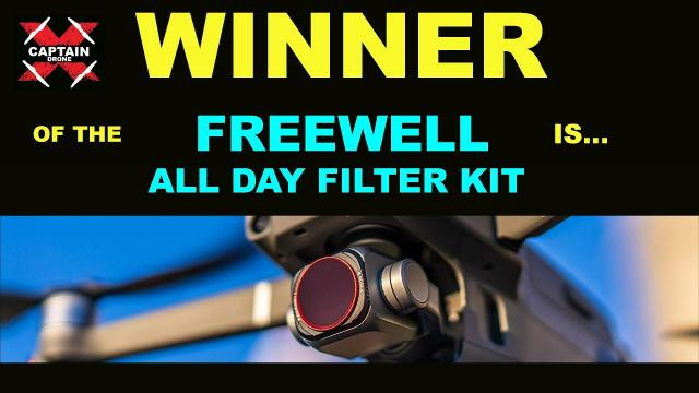 The WINNER of the FREEWELL ALL DAY FILTER KIT is...  Thank you to FREEWELL!