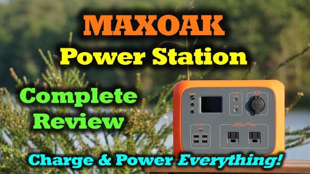 MaxOak - All The Portable Power You'll Even Need