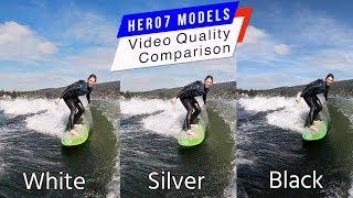 GoPro Hero7 Black / Silver / White Video Quality Comparison - GoPro Tip #620