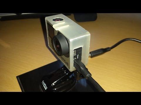 3D Printing GoPro Hero 4 Frame