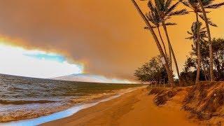 Maui Wildfire! 7/11/2019 | MicBergsma