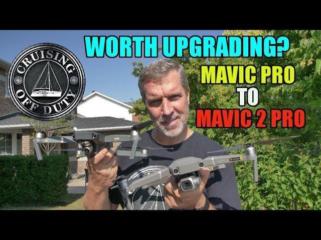 Mavic 2 Pro vs Mavic Pro drone.  Worth the upgrade? Hasselblad Camera and improved Object Tracking.