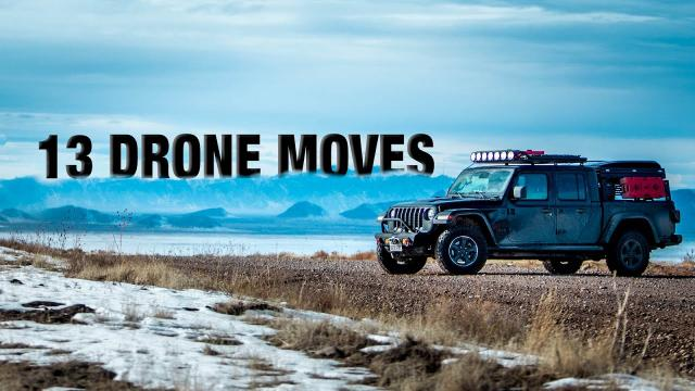 13 DRONE Moves to Fly Like A PRO with a DJI MINI 2