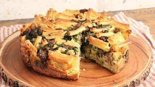 Sausage & Broccoli Rabe Pasta Pie ???? | Episode 1171