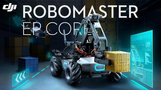 Introducing the RoboMaster EP Core