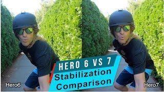 GoPro Hero 7 HyperSmooth vs Hero 6 Stabilization Comparison - GoPro Tip #618