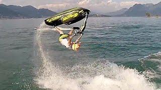 GoPro Jet Ski Freestyle (flying Drone View)