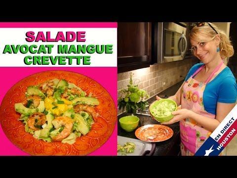Salade Crevettes, Mangue Et Avocat ♡ Virginie Fait Sa Cuisine [N°10]