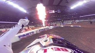 GoPro: James Stewart's 48th Win - 2014 Monster Energy Supercross Detroit