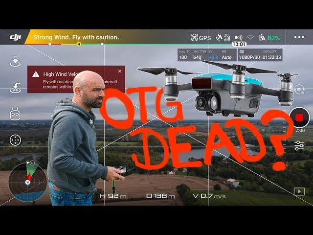 Is the DJI SPARK OTG Cable Dead?!!