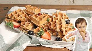 Blender Waffles Recipe (Baby Mia Approved!) | Ep. 1255