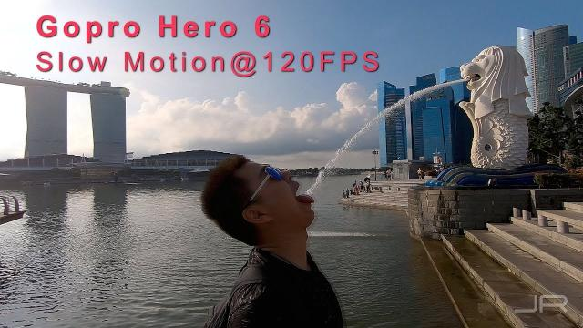 Go Pro Hero 6 - SLOMO w/ zoom slider