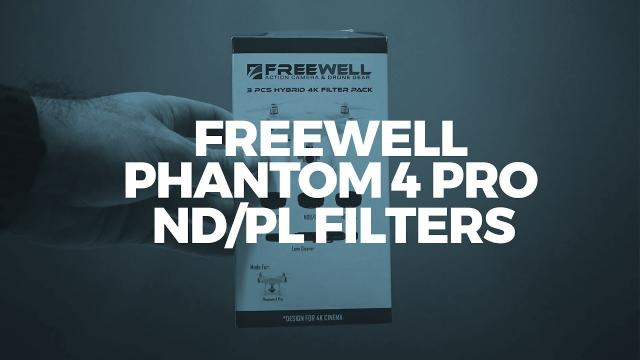 Freewell Gear Hybrid ND/PL Filters for Phantom 4 Pro