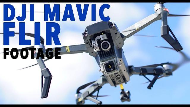 DJI Mavic FLIR Footage! THERMAL CAMERA SOLUTION!