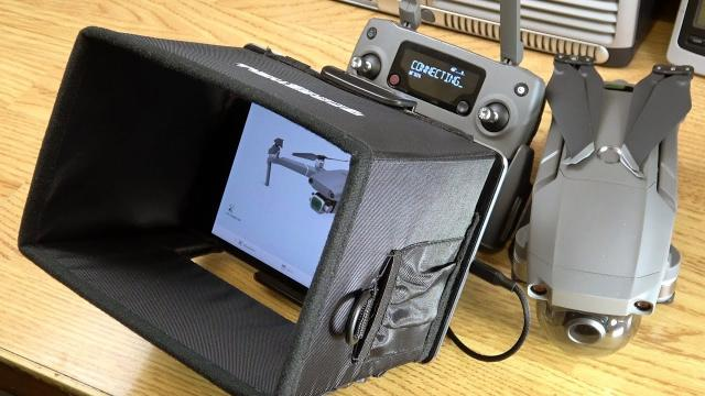DJI Mavic 2 Pro / Zoom - Air - Pro - Spark Monitor Hood by Freewell