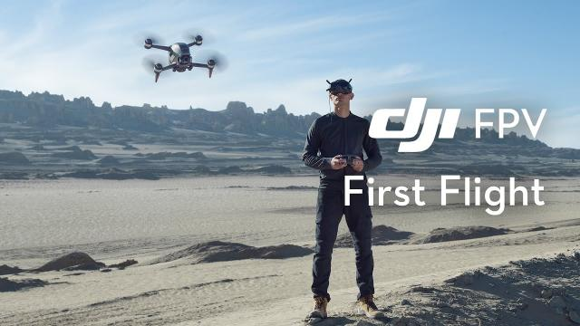 DJI FPV   First Flight and Beginner's Guide - Start Flying a DJI FPV!