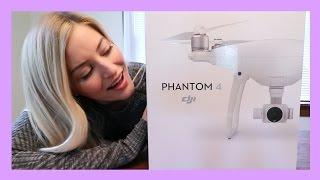DJI Phantom 4 drone review and unboxing!!!! | iJustine