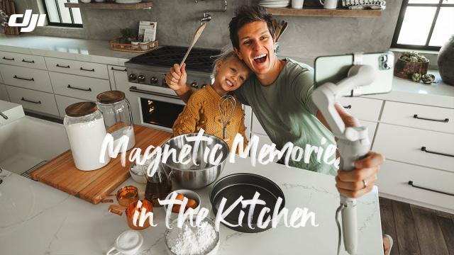 DJI OM 4 - Magnetic Moments in the Kitchen