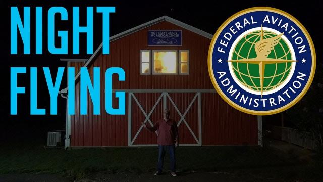 How to fly a Drone at NIGHT (FAA Rules) KEN HERON