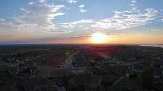 Copy of DJI Phantom 2 Vision Plus - Aerial view of the Sunset