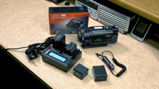 AX53   AX33 LCD Dual Battery Charger