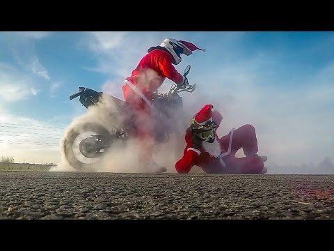 GoPro: Supermoto Santa