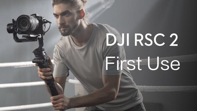 DJI RSC 2 | How to Use DJI RSC 2