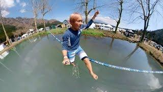 GoPro: Freestyle Slackline in Japan