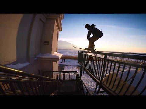 GoPro: Tom Wallisch's Sunset Rail With Good Company