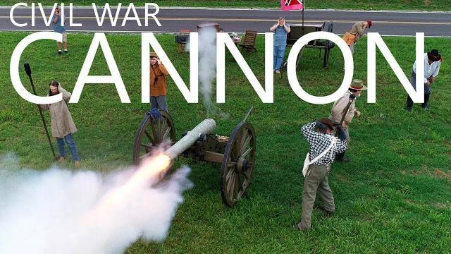 Firing a Civil War Cannon - Memorial Day - KEN HERON