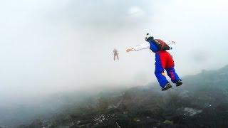 GoPro Awards: Cloudy Sky Base Jump in Norway