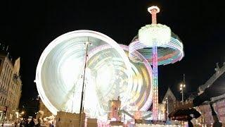Fairground | Real-time Light Painting (Canon 60D)