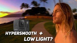 Hero8 HyperSmooth in Low Light? - WATCH THIS FIRST - GoPro Tip #664 | MicBergsma