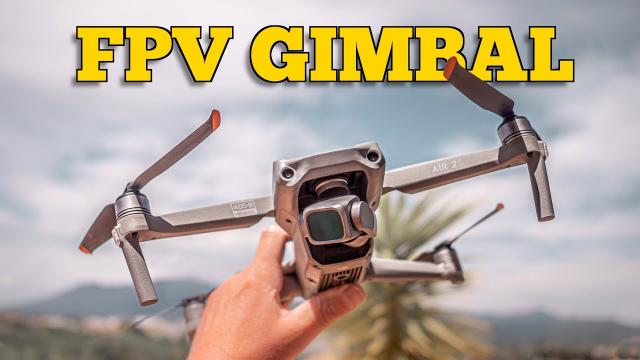 FPV GIMBAL MODE ON THE DJI AIR 2S // FAVOURITE NEW FEATURE!! ????