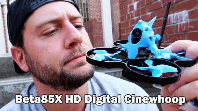 Fast Little HD Quad with the Caddx Nebula Camera ???? Beta85X HD Digital Cinewhoop