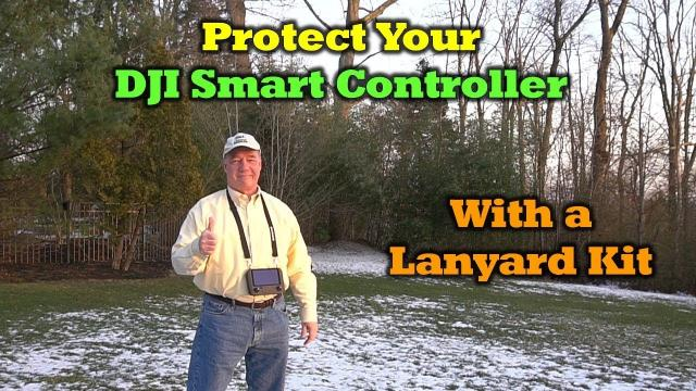 Protect Your DJI Smart Controller With a Lanyard Kit